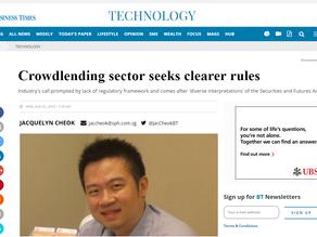 Crowdlending sector seeks clearer rules