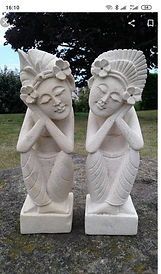 Statues balinaises