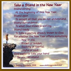 Take Your New Year Stand