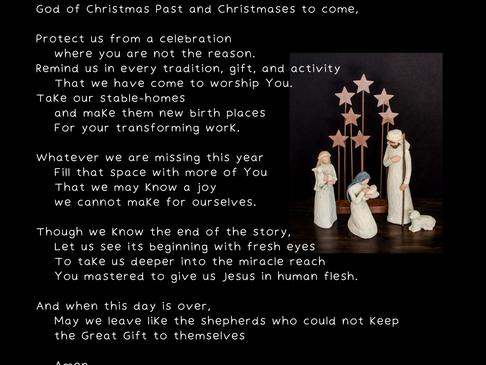 A Prayer for Christmas Day