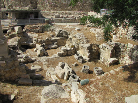 When I Sat Beside the Pool of Bethesda