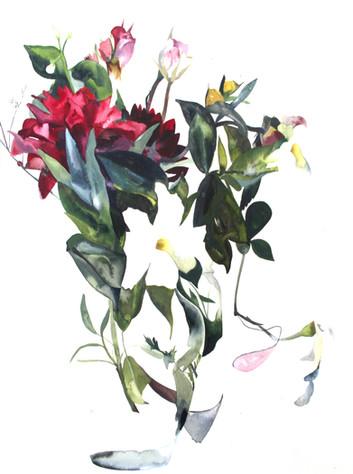 Abstract Dahlia