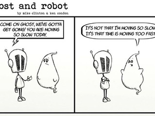 Ghost and Robot: Time