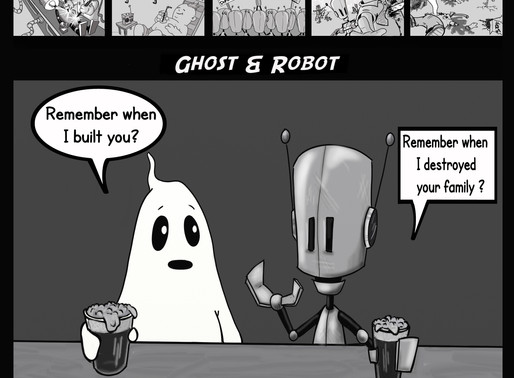 Ghost and Robot #1