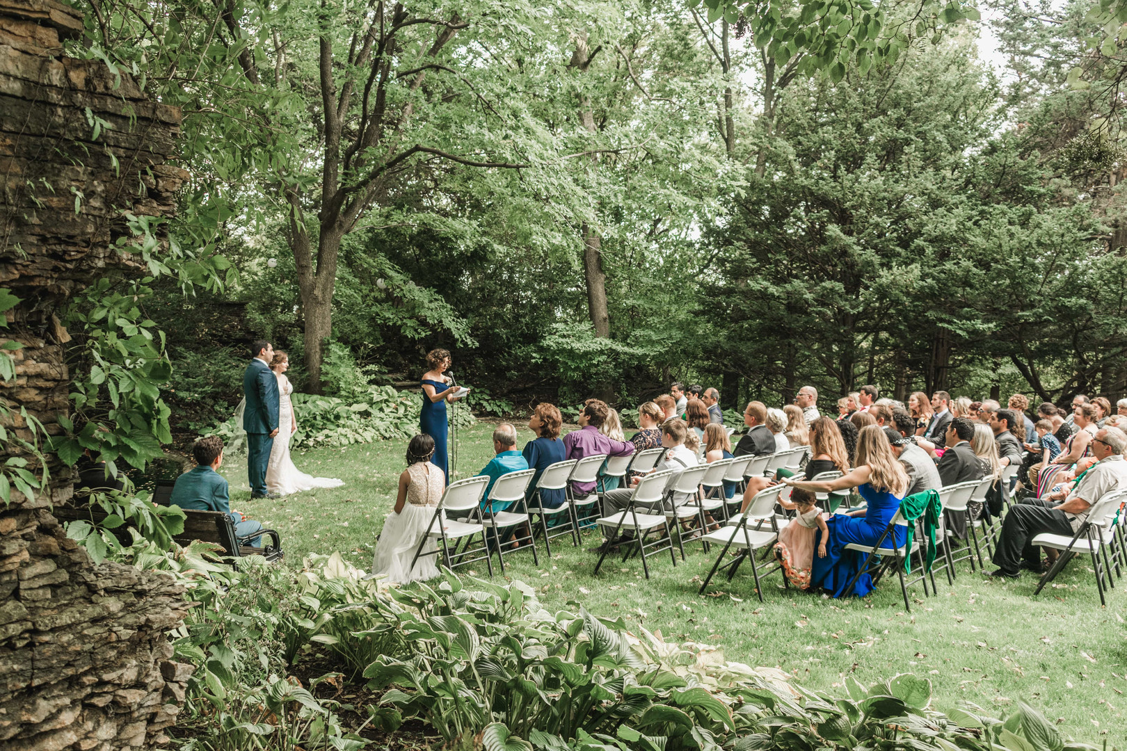 Wedding Ceremony in Rochester, Minnesota
