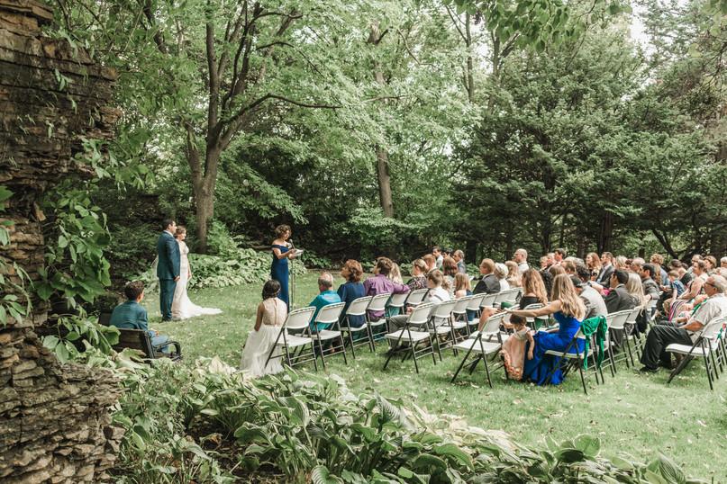 Wedding Ceremony in Rochester, Minnesota