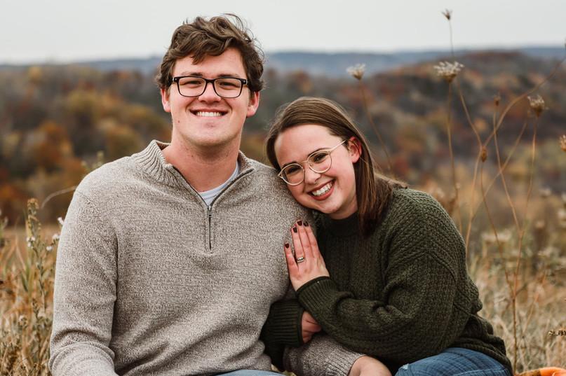 La Crosse, Wisconsin Engagement Photoshoot