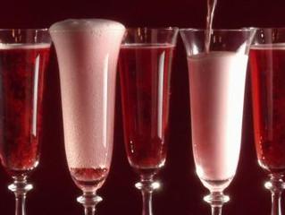 Rosé champagne.