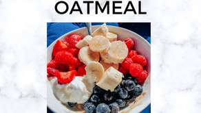 Peanut Butter & Fruit Packed Oatmeal