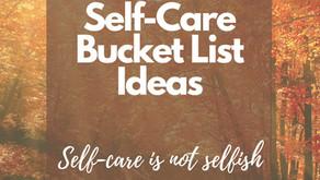 20 Fall Self-Care Bucket List Ideas