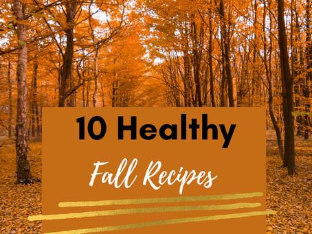 10 Healthy Fall Recipes