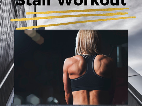 25 Minute HIIT Stair Workout