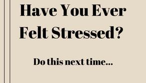 Have You Ever Felt Stressed?