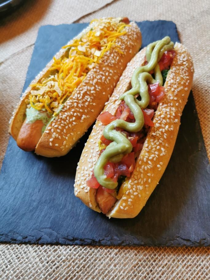 Hot dogs gourmet à Paris