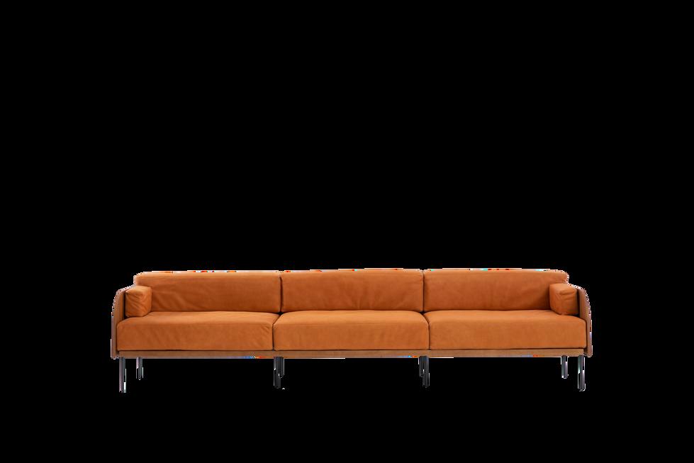 sofá curva