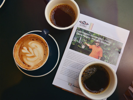 Stop and smell the coffee: Amble café
