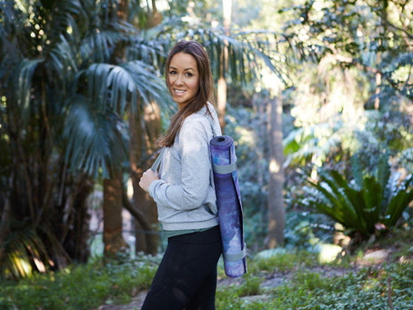 Jessica Incledon, Founder of Yellow Willow Yoga