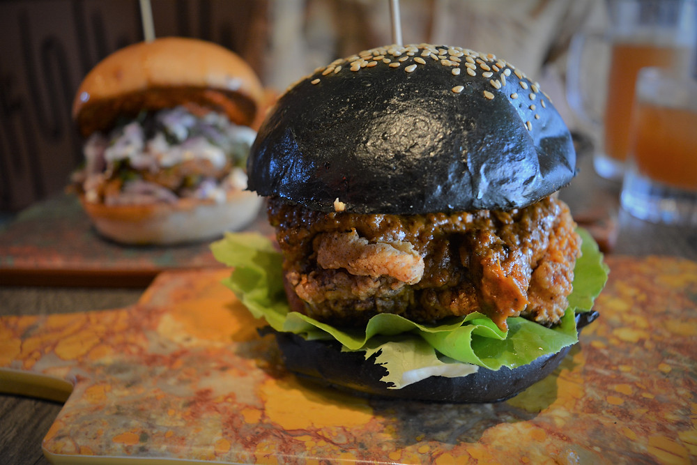 The Mighty Butter Chicken Burger