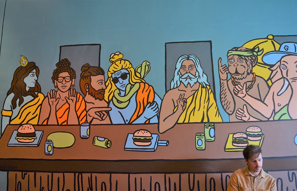 The Last Supper - Indian style