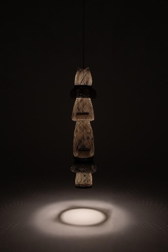 luminária arumã pendente