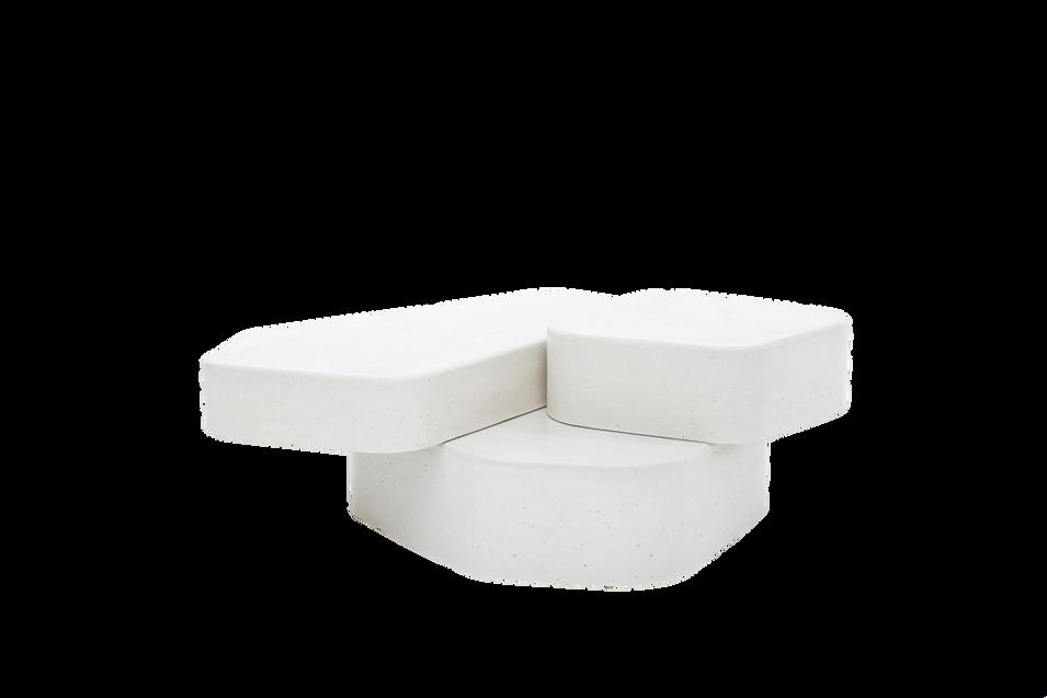 mesa de apoio pedras