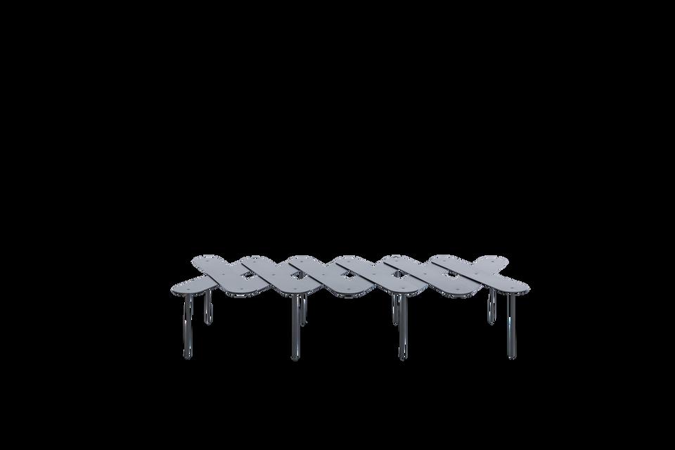 mesa de apoio pantográfica