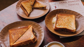 Gooey toasties and good coffee at the new cowboy café—Head Honcho