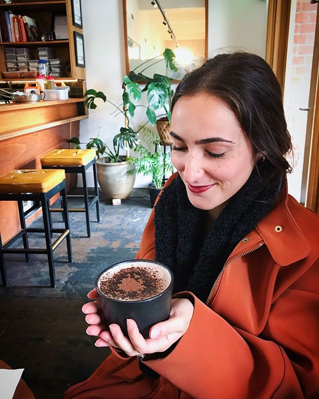 My bowl of milk soup AKA hot chocolate ☕