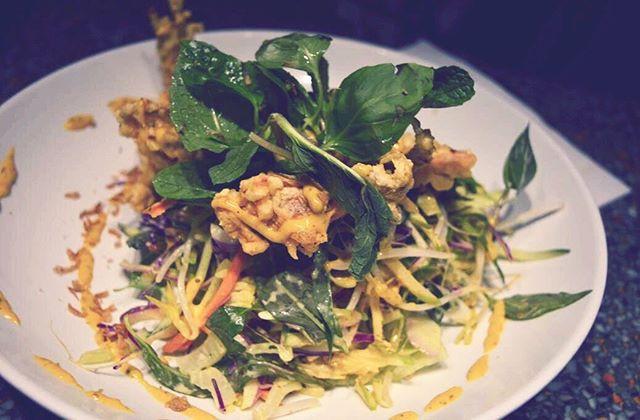 Crispy Soft Shell Crab Salad