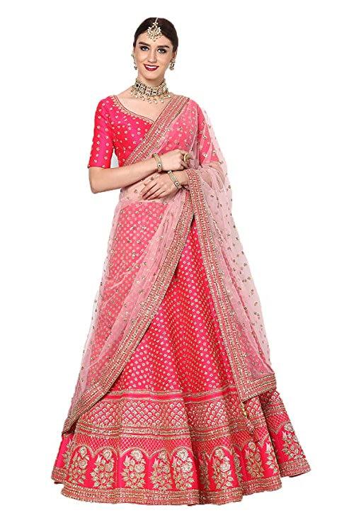 Women's Silk Lehnga Choli