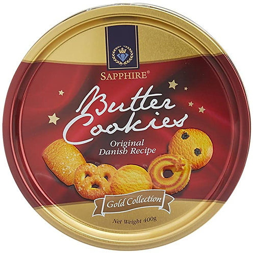 Sapphire Butter Cookies, Gold Collection, 400g
