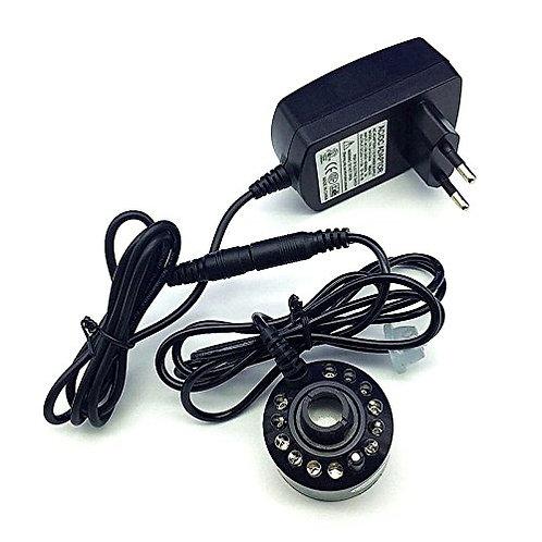 12 LED AC100-240V Ultrasonic Mist Maker