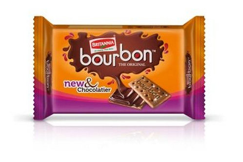 Britannia Bourbon - The Original Biscuits, 60g Pouch