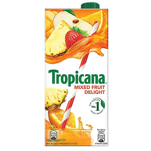 Tropicana Mixed Fruit Delight Juice, 1000ml