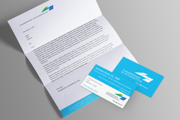 Letter and Business cards