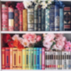 Books with flowers.png
