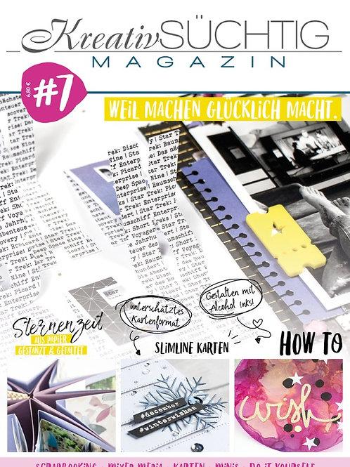 Kreativsüchtig Magazin Nr.7