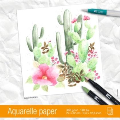 Tombow Aquarellpapier A4