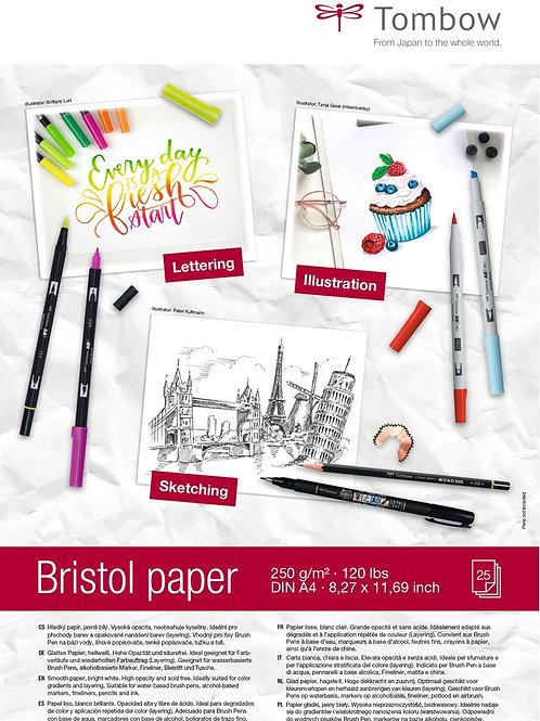 Zeichenblock Bristol