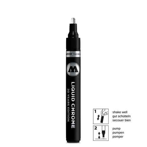 molotow Liquid Chrome 4mm, silber