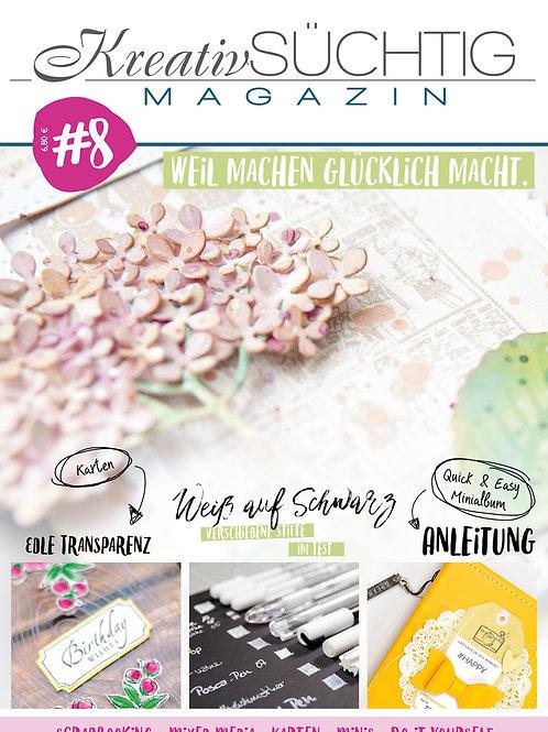 Kreativsüchtig Magazin Nr. 8