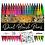 Thumbnail: Intrend Dual Brush Pens, 36 Farben - 2 Spitzen