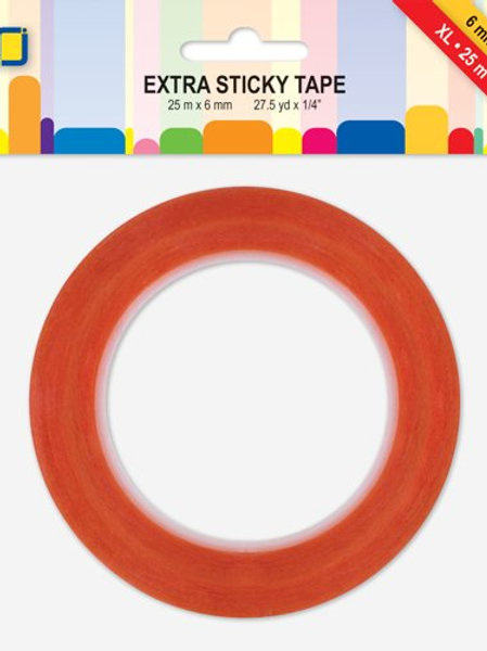 Extra Sticky Tape XL, 6mm