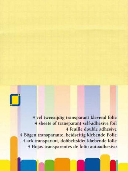 Klebeblätter Transparent A4