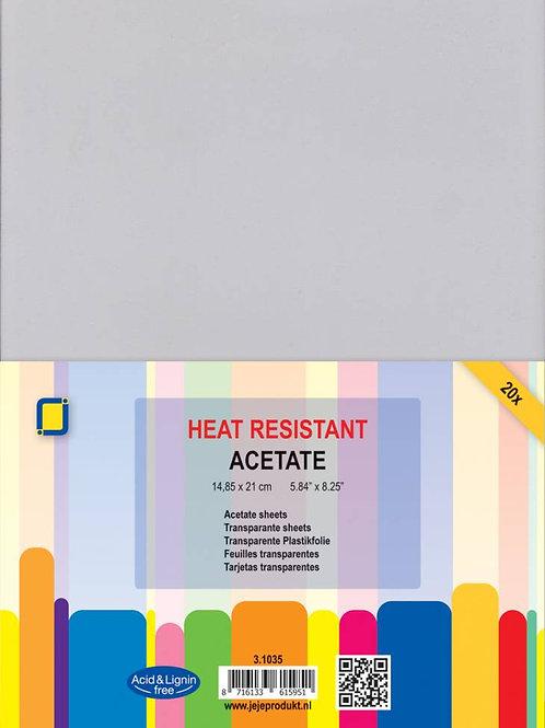 Hitzebeständige Acetat Sheets A5