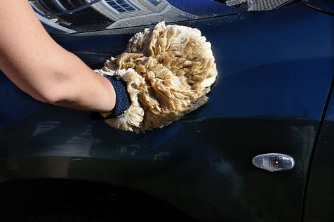 We make sheepskin car wash mitts and sheepskin steering wheel covers plus sheepskin seat belt protectors using only 100% natural sheepskin.