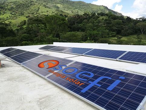 SOEFI Energía Solar Fotovoltaica | Paneles solares | Módulos Fotovoltaicos e inversores