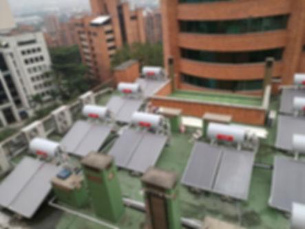 SOEFI | ACS Calentador Solar Agua | Termosifón | Bogotá Colombia