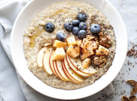Porridge - das leichte Frühstück zum Jahresstart.