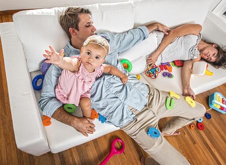 Eltern-Burnout: der 5-Punkte Plan gegen Stress
